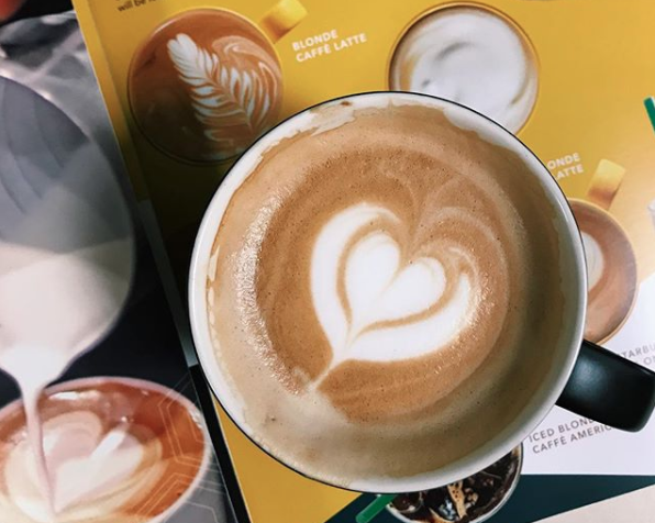 Starbucks Is Now Offering A Blonde Espresso Its First New