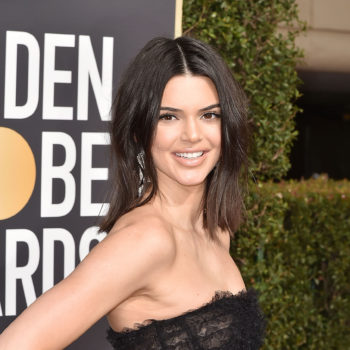 Kendall Jenner had the perfect response to comments about her acne on the 2018 Golden Globes red carpet