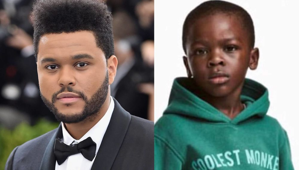 The Weeknd cut ties with H&M after they released a racist sweatshirt image