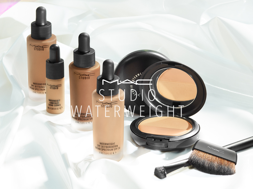 MAC is launching concealer and powder versions of its fan-favorite Waterweight Foundation