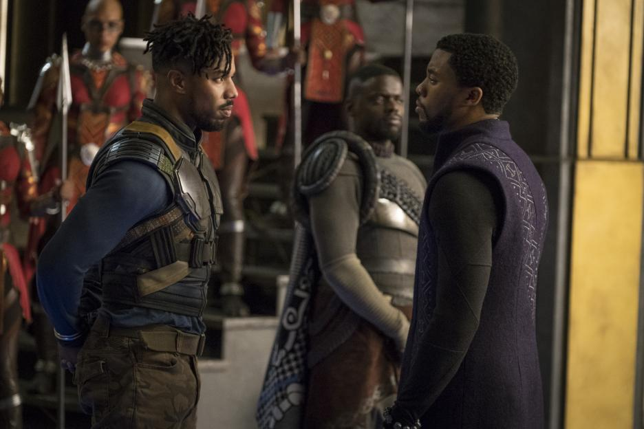 Black Panther suits up for war in the latest trailer for the Marvel movie