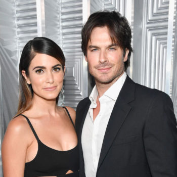 Ian Somerhalder carried wife Nikki Reed's breast pump all night at the 2018 Golden Globes