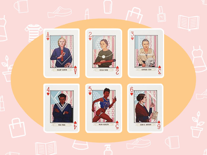 "WANT/NEED: Feminist playing cards to spice up your ""Go Fish"" game, and more stuff you want to buy"