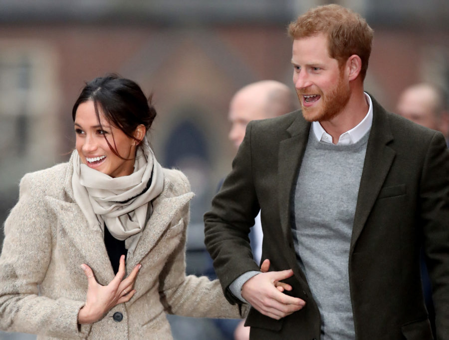 Meghan Markle marked her second royal outing with Prince Harry in the flared pants of our dreams