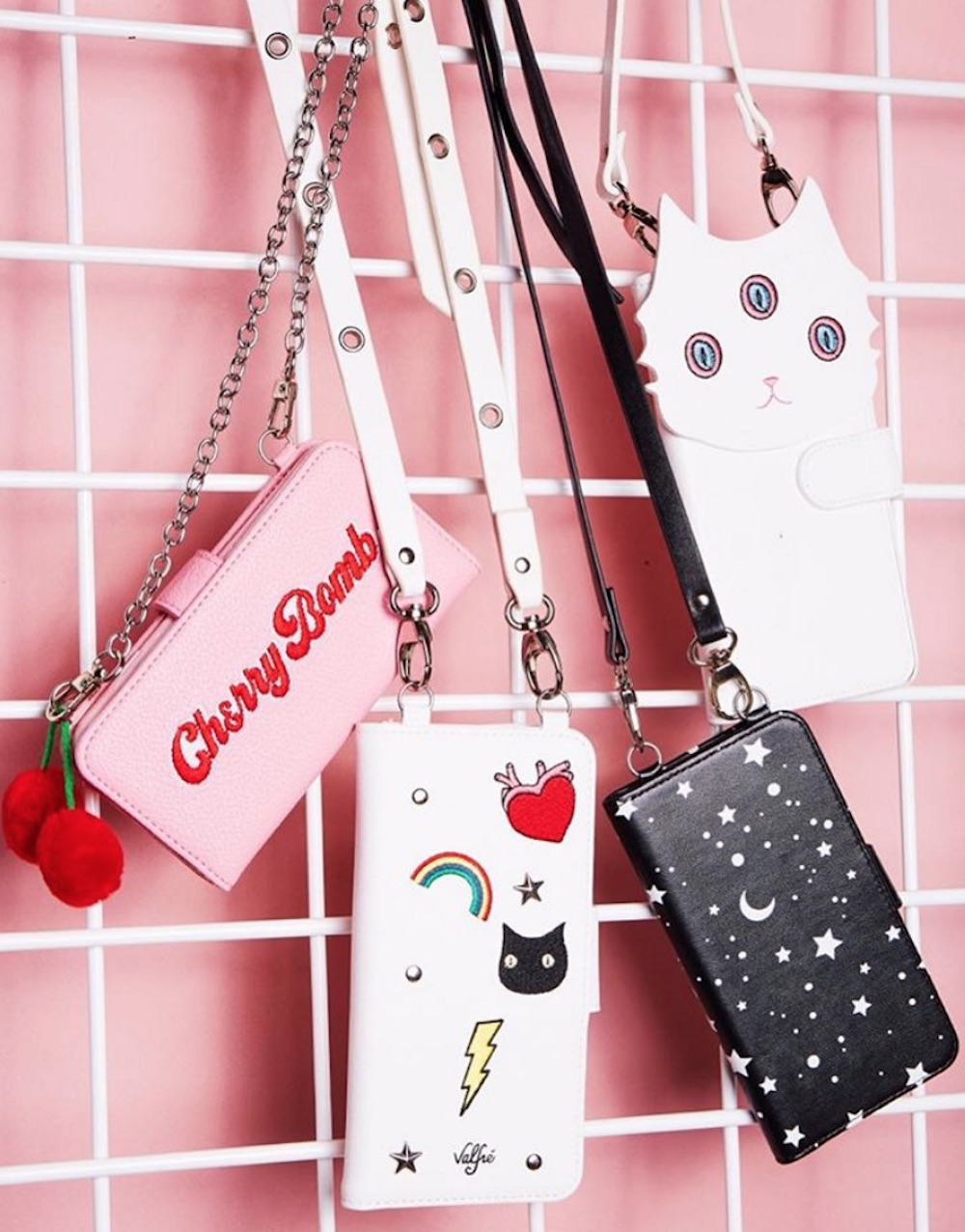 Thanks to Valfré's cute wallet phone cases, you can give your purse a break