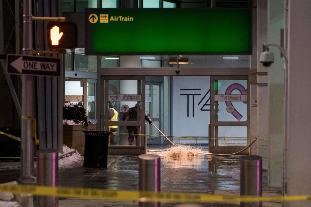 JFK Airport is flooding right now, and the pictures will literally make you shriek