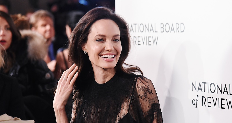 Angelina Jolie stepped out on the red carpet with injured Shiloh and Zahara