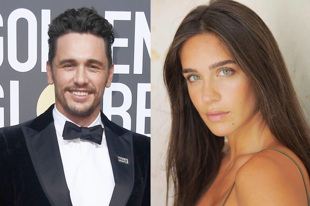 James Franco has a gir...
