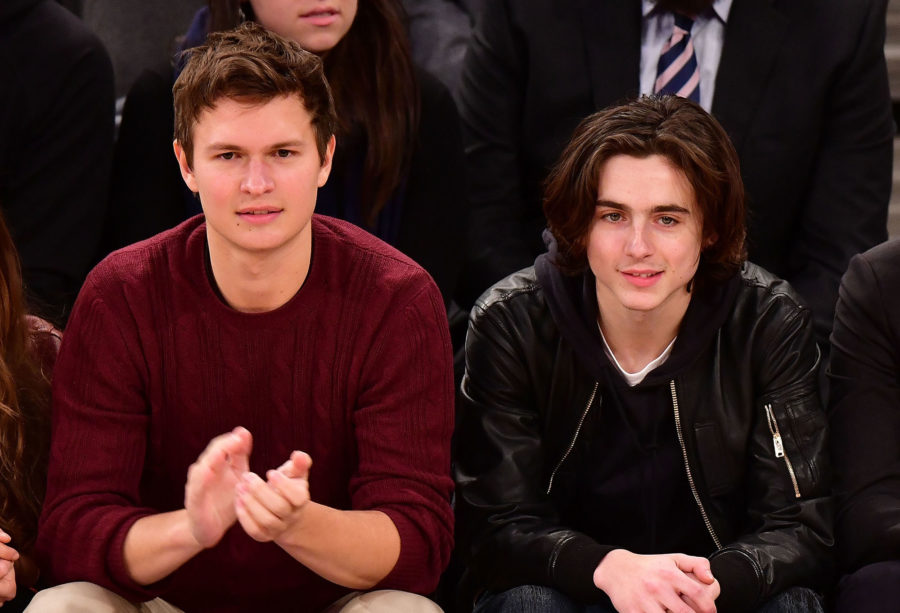 Former classmates Ansel Elgort and Timothée Chalamet can't agree on who was cooler in high school