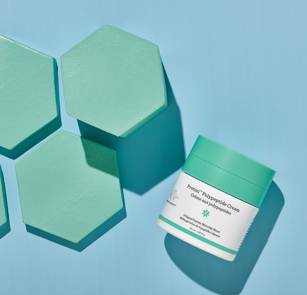 Drunk Elephant's multi-purpose Protini moisturizer will help us with our skin care woes