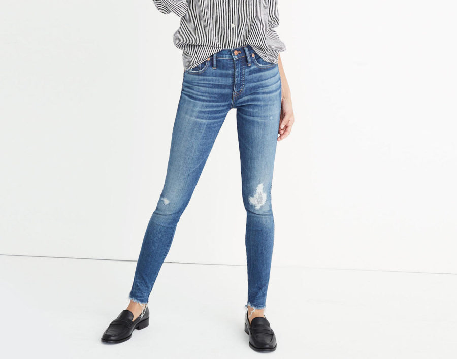 Madewell offers denim discounts when you donate old jeans, in case you didn't know