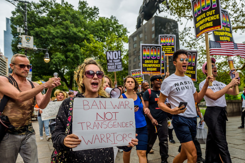 What to say to people who think transgender people can't serve in the military