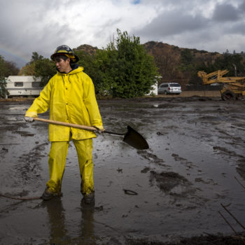 Did global warming cause the mudslides in Southern California?