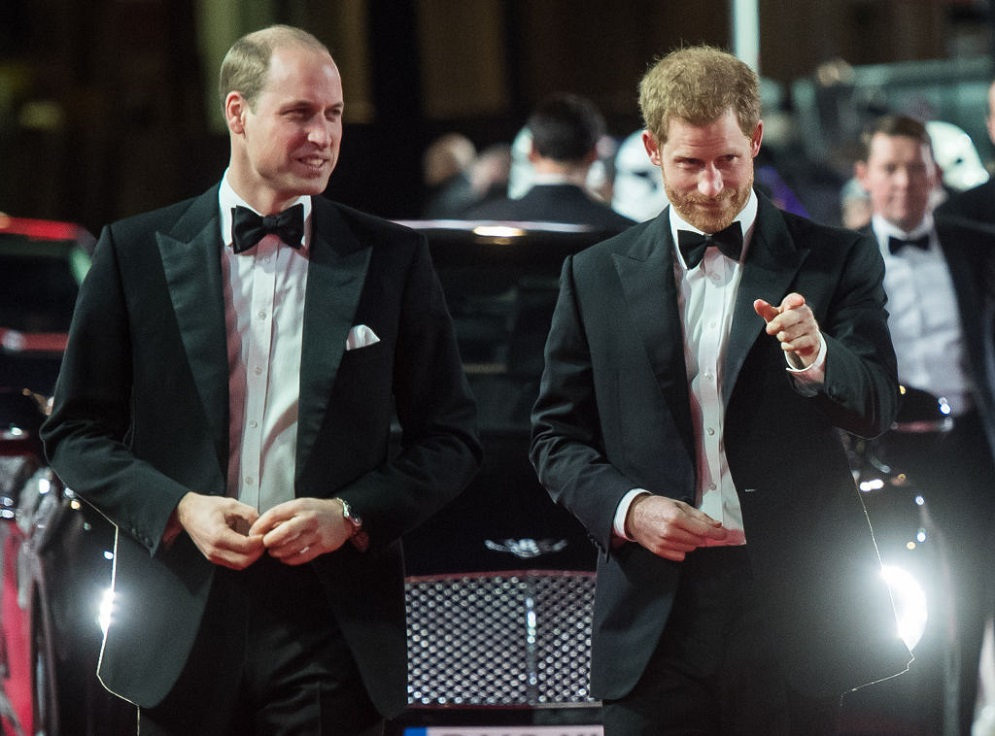 Prince William has no idea if he's going to be Prince Harry's best man