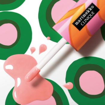The Clinique x Marimekko makeup collab will add a pop of color to your lips and beauty drawer