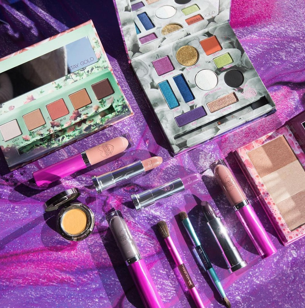 Urban Decay launched an electrifying makeup collection with beauty vlogger Kristen Leanne