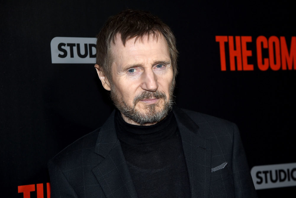 We can officially add advocating for gender pay equality to Liam Neeson's very particular set of skills