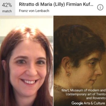 This free app finds museum portraits that look like you