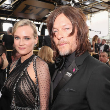 We are here for Diane Kruger and Norman Reedus's subtle red carpet PDA
