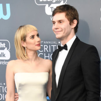 Emma Roberts's Instagram post about Evan Peters' Critics' Choice Award nomination is too adorbs