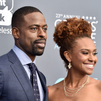 Sterling K. Brown and Ryan Michelle Bathe served ultimate power couple vibes on the Critics' Choice Awards red carpet