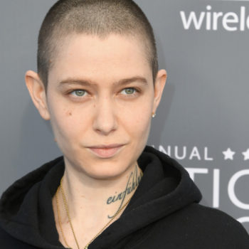 Asia Kate Dillon wore a #BlackLivesMatter hoodie to the 2018 Critics' Choice Awards