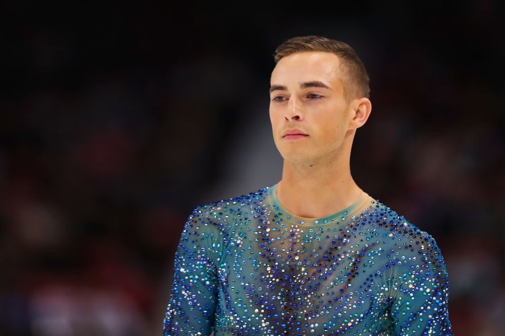 Adam Rippon had the most polite clapback for internet trolls who hope he fails