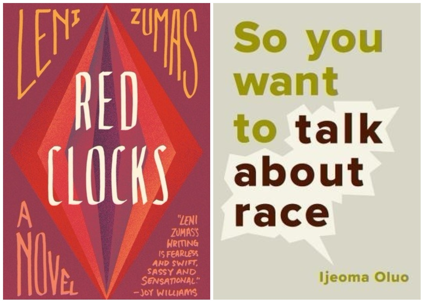 "Books coming out this week: ""Red Clocks,"" ""So You Want to Talk About Race,"" and more"
