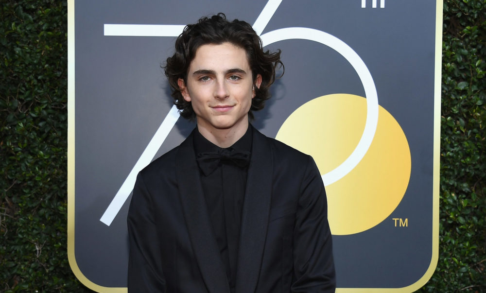 Timothée Chalamet is joining the list of actors donating their Woody Allen movie salaries to charity
