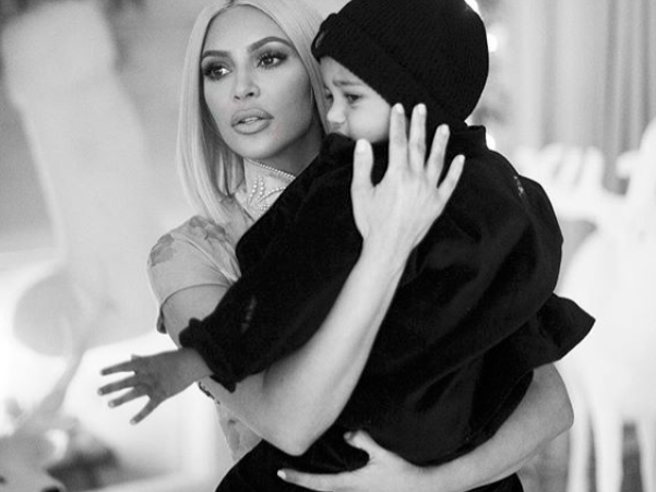 Kim Kardashian hasn't announced her third baby's name, but Twitter has some theories