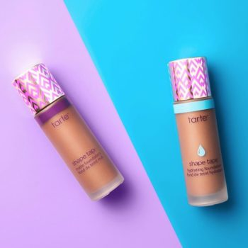 Tarte blessed us with two different Shape Tape foundations that work for people with dry and oily skin