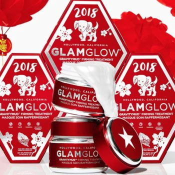 GlamGlow is celebrating the Lunar New Year with its red-hot GravityMud mask