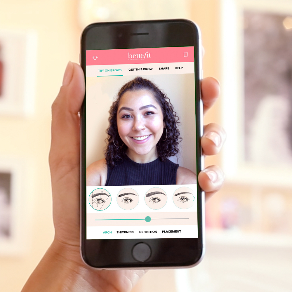 Benefit's new virtual eyebrow tool will be your saving grace if you suck at doing your brows