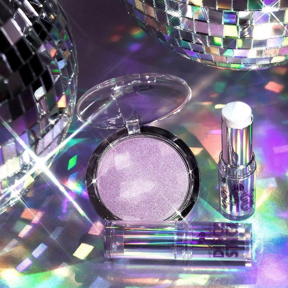 Urban Decay's new holographic highlighters will make your cheeks sparkle like a disco ball