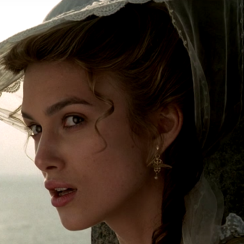 """For Keira Knightley, being young on the set of """"Pirates of the Caribbean"""" was """"pretty horrific"""""""