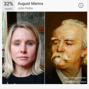 Celebrities can't stop playing with the Google Arts and Culture app either