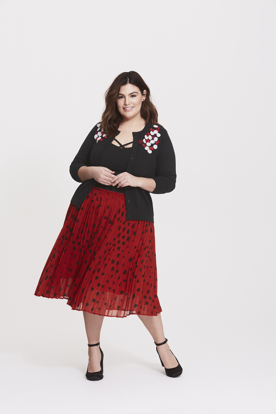 ba360949b0 Torrid released a Minnie Mouse-inspired fashion collection ...
