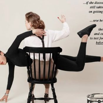This photographer reversed the gender roles in these sexist '50s ads