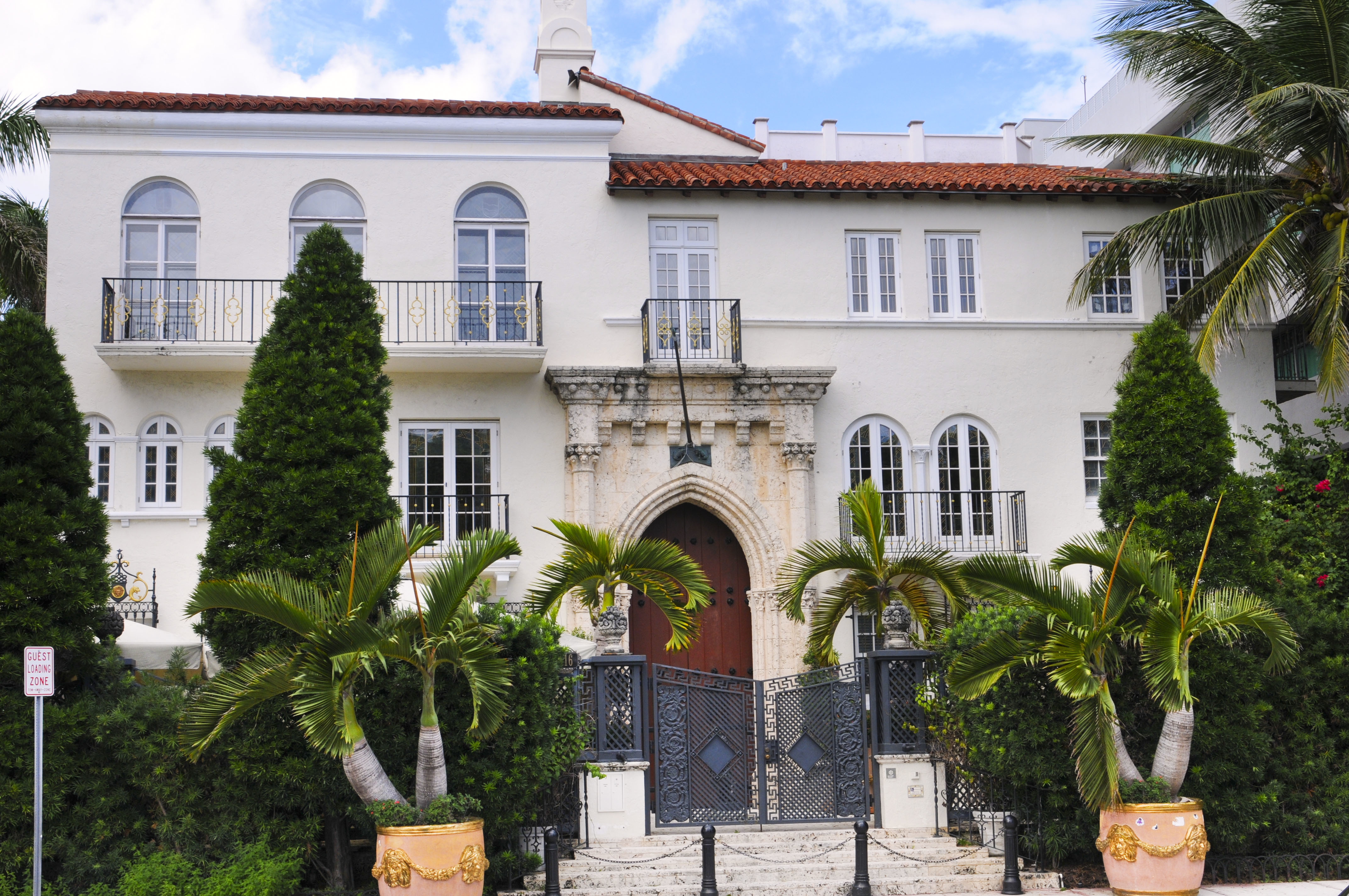 FYI: You can actually book a stay at Gianni Versace's mansion in Miami