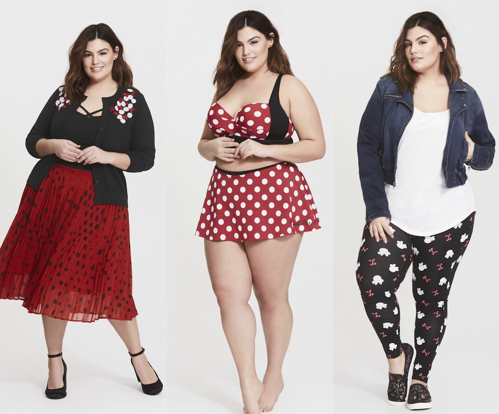 Torrid's new Rock the Dots collection celebrates Minnie Mouse, and it's spot on