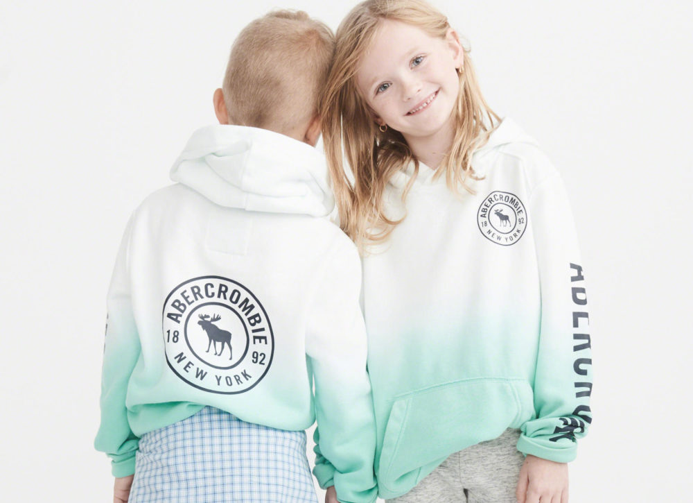 We wish Abercrombie Kids' new gender-neutral collection was around when we were young