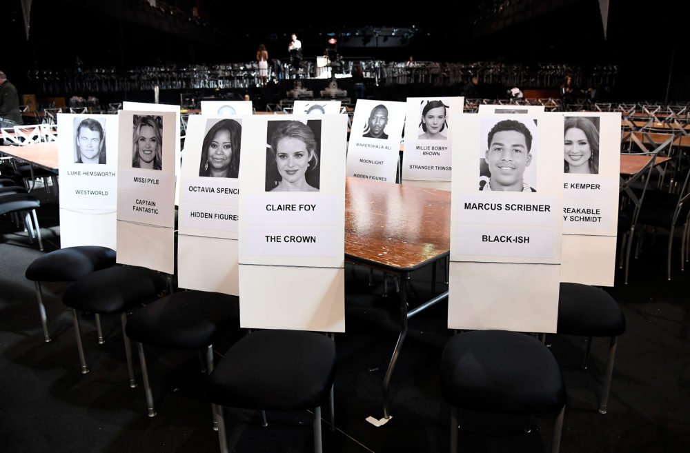 The SAG Awards is having a nightmare time figuring out the seating for this year's event
