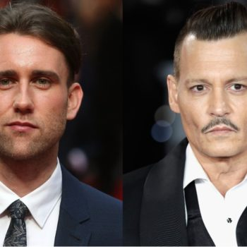 """Matthew Lewis opens up about Johnny Depp's role in """"Fantastic Beasts"""": """"I think it's a powerful question"""""""