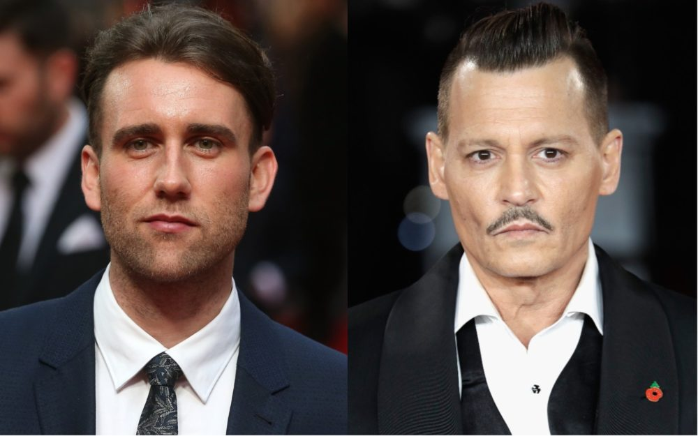"Matthew Lewis opens up about Johnny Depp's role in ""Fantastic Beasts"": ""I think it's a powerful question"""