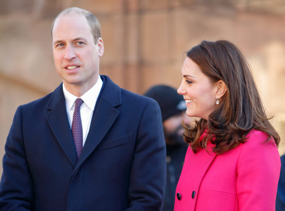 Prince William shaved off all his hair