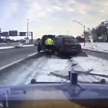 This car accident in Detroit is terrifying, and everyone is talking about it