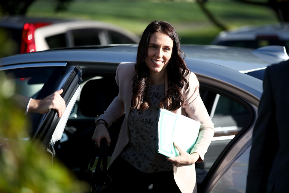 Is the Prime Minister of New Zealand the first person to be pregnant while in office?