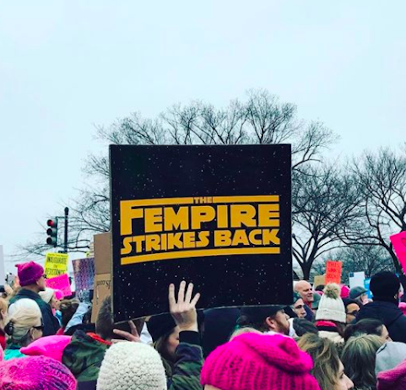18 punny Women's March sign ideas, because revolutions should be witty