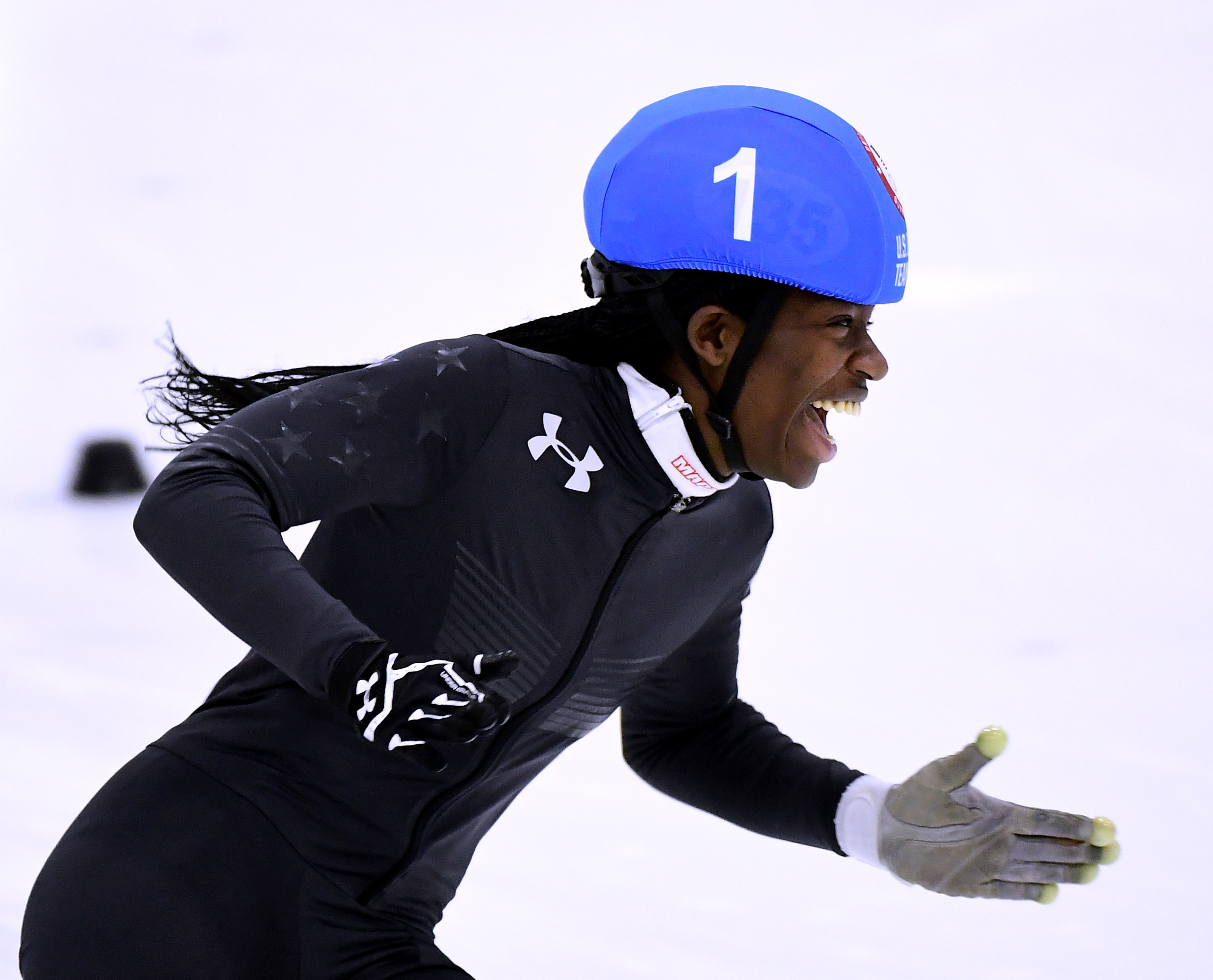 7 things to know about Maame Biney, the first black woman to make the U.S. Olympic speed skating team