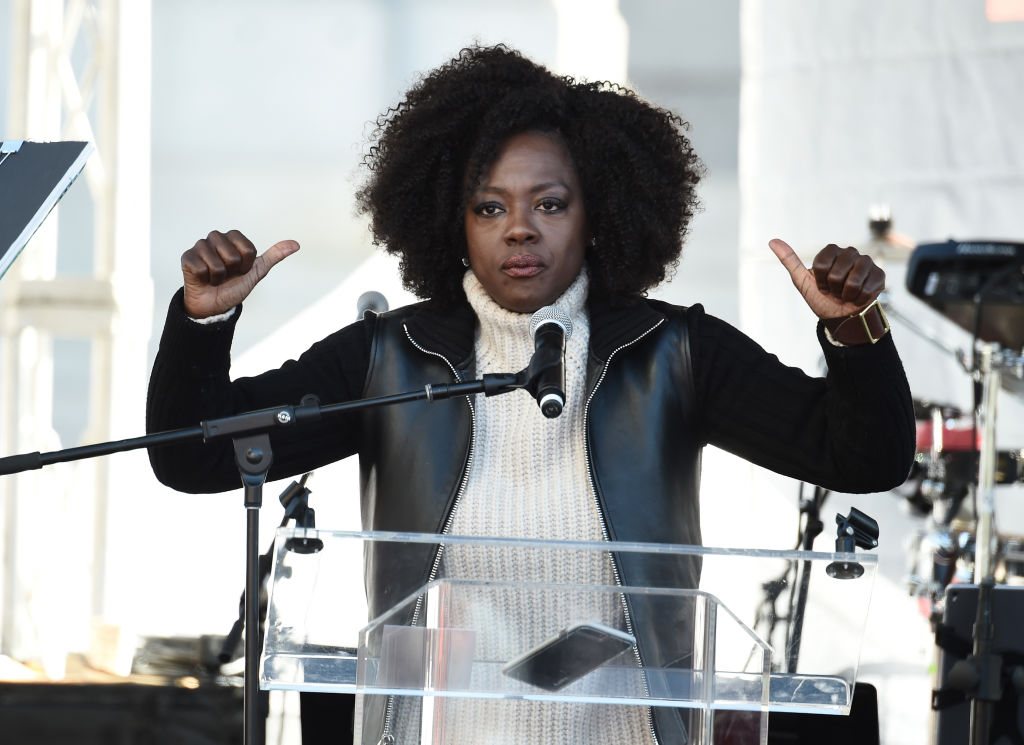 Viola Davis spoke about #MeToo at the 2018 Women's March, and her speech is so moving